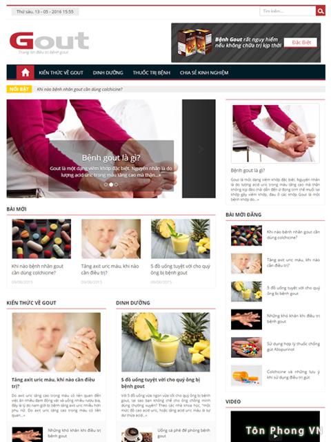 Gout căn bệnh thường gặp và nguy hiểm
