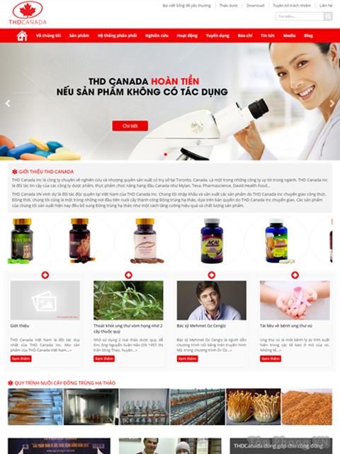 Dược phẩm THDCanada uy tín về dược