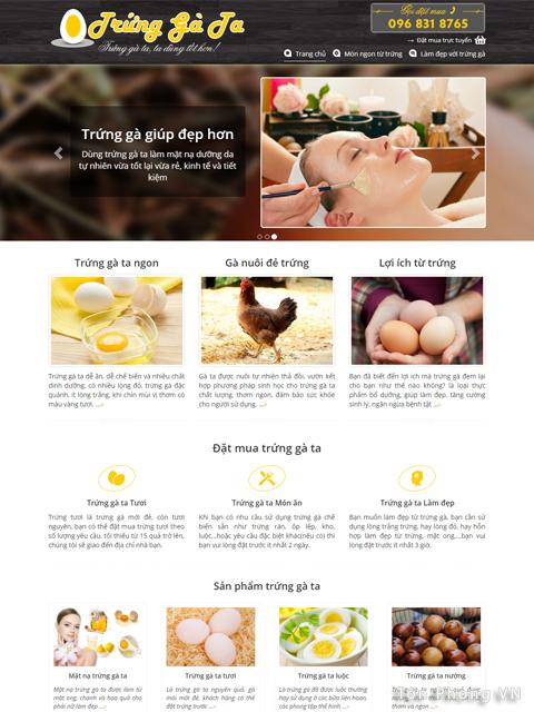Trứng gà ta tốt cho sức khỏe