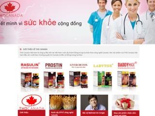 Thiết kế web công ty dược phẩm