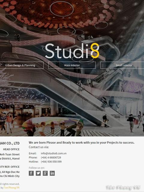 Tôn phòng chuyên thiết kế giao diện website