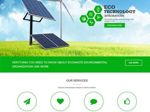 Thiết kế web công ty - tổ chức môi trường, dịch vụ xử lý môi trường