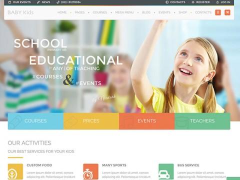 Thiết kế web cho trường mầm non, mầm non tư thục